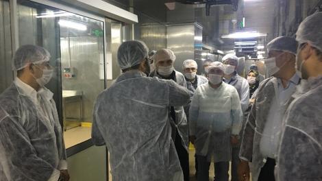 Cergibozanlar' dan End Gıdaya ziyaret